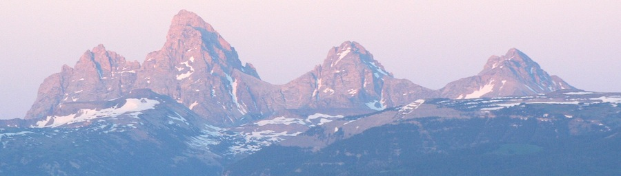 Driggs Cabin View