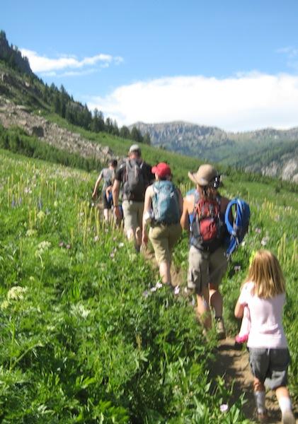 Alaska Basin Trail